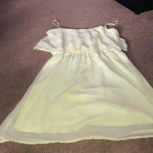 Sheer tank dress